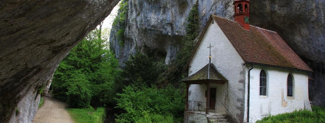 Martinskapelle in der Verenaschlucht.