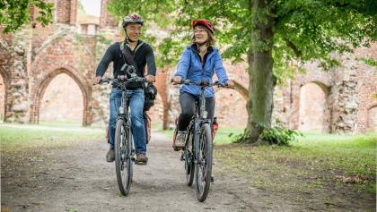 Auf Zeitenreise - Die Orte der Romantik mit dem Rad erleben