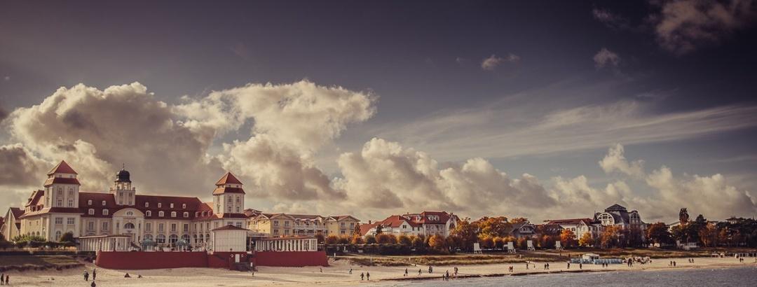 Kurhaus am Strand im Ostseebad Binz
