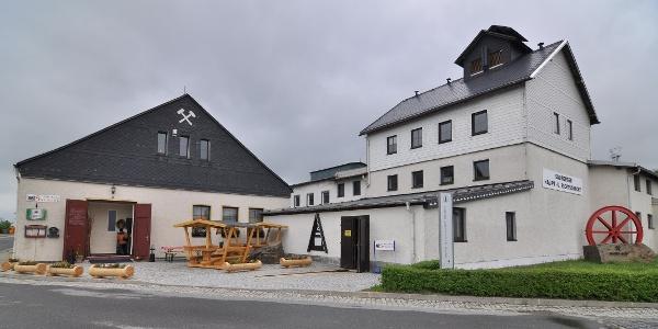 Besucherbergwerk Zinngrube Ehrenfriedersdorf