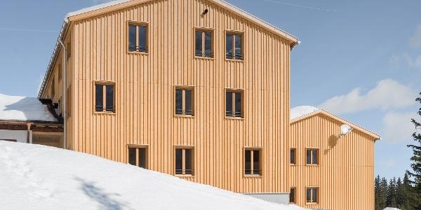 Neues Schlafhaus der Lindauer Hütte