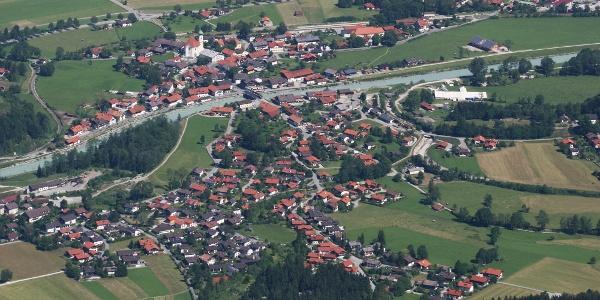 Startpunkt Eschenlohe von der Hohen Kiste