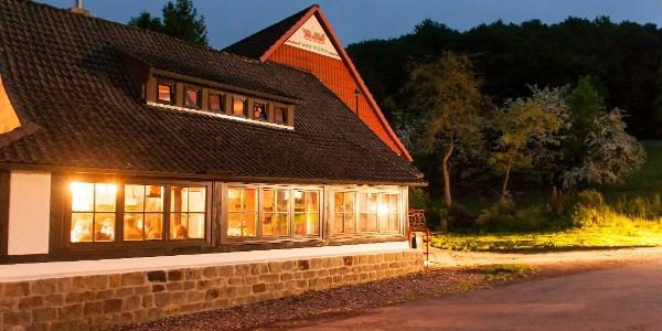 Hohensteinhütte in Abendstimmung