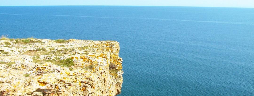 Am Schwarzen Meer bei Kamen Brjag