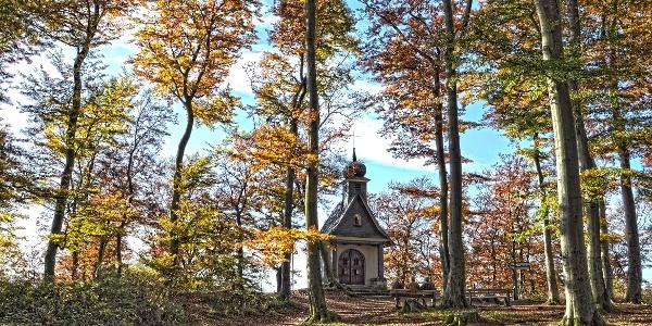 Borbergs Kirchhof bei Brilon am Rothaarsteig