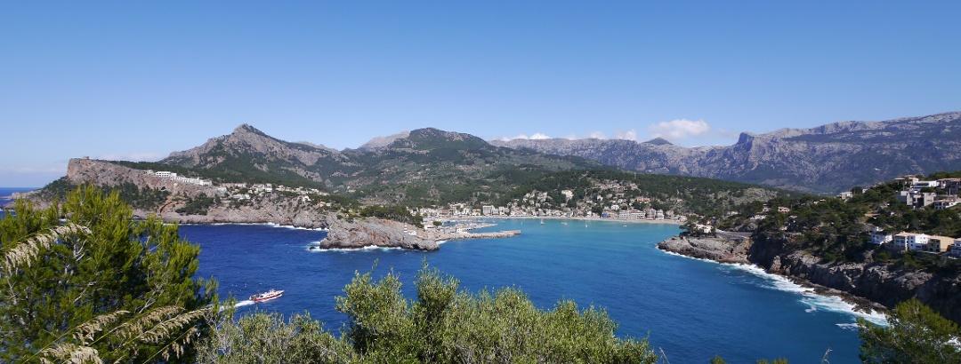 Blick auf Port de Sóller