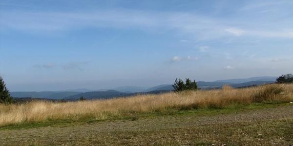 Wunderbarer Ausblick bei Winterberg am Rothaarsteig