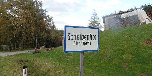 Ortstafel Scheibenhof