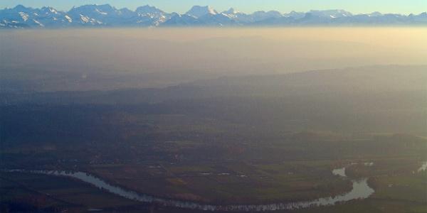 Alpenpanorama vom Weissenstein.