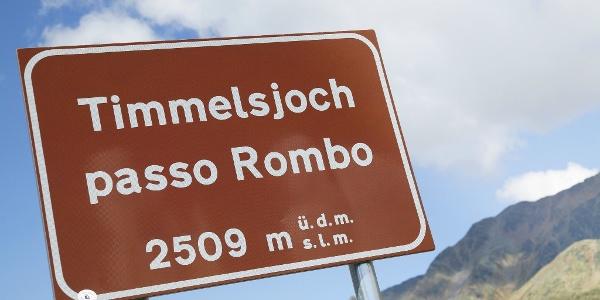 Timmelsjoch 2509m