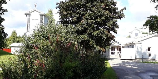 The Church of Hemlingby, Gävle, the Saint's Trail.