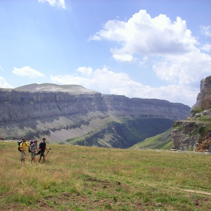 Ruta en Aragón con impresionantes paisajes