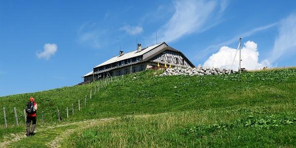 Alphütte auf Gros Plané.