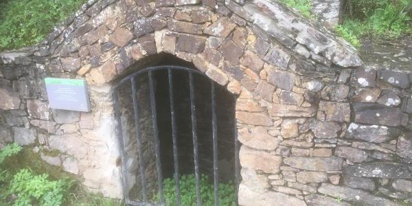 Historic well below Aljezur Castle.