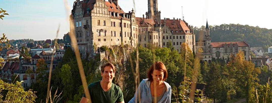 Über die Höhen von Sigmaringen
