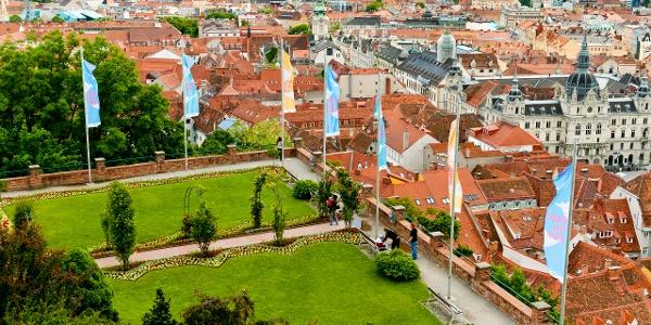 Blick vom Schlossberg