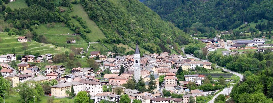 Die Gemeinde Tiarno di Sotto im Valle di Ledro