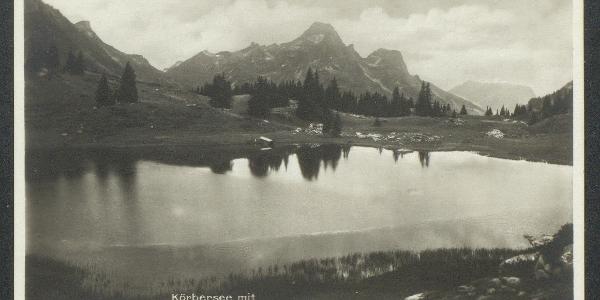 Postkarte Körbersee