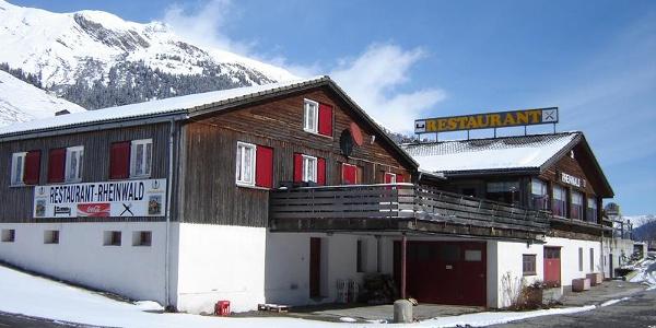 Gasthaus Rheinwald Winter