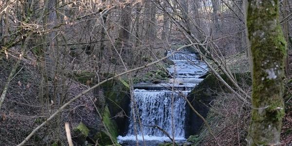 Wasserfall im Lattenbachtobel