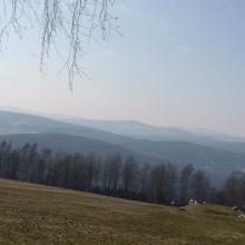 Ausblick nach bernsbach