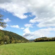 An der Neckarschleife entlang