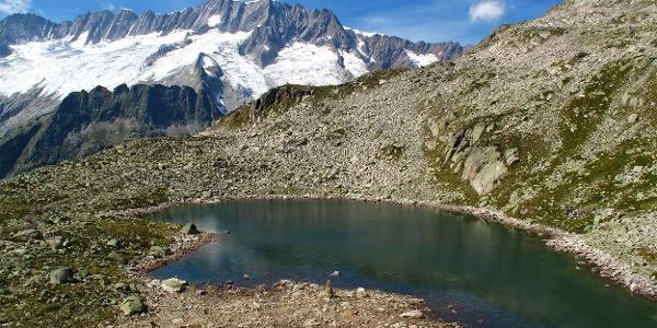 Bergsee nahe der Bergseehütte.