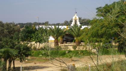 Hazienda auf dem Weg nach Castilblanco de los Arroyos