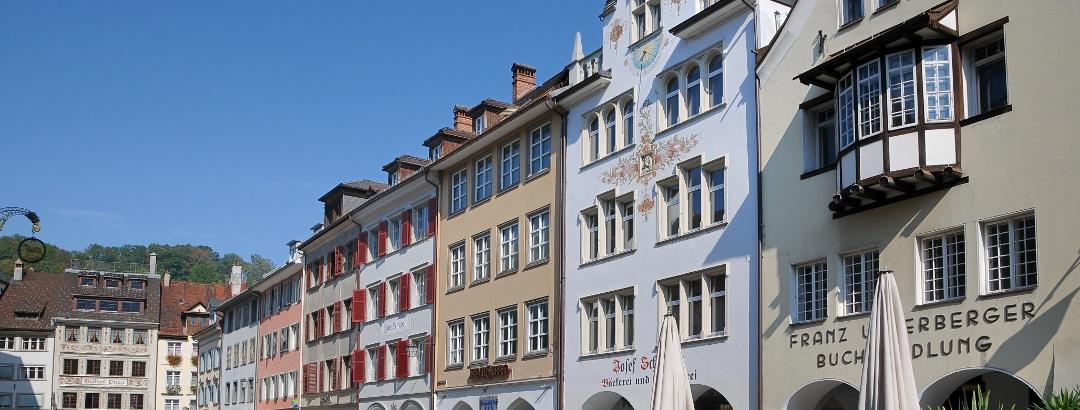 Die Marktgasse in der Feldkircher Innenstadt