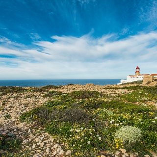 The lighthouse at Cabo Sao Vicente