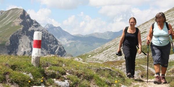 Etappe 16: Zwischen Arosa und Davos über Gang: Maienfelderfurgga
