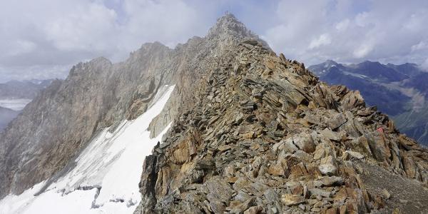 Gipfelgrat am Wilden Freiger