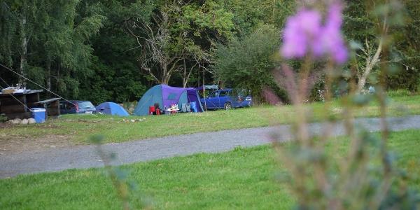 Camping auf dem Sydostleden
