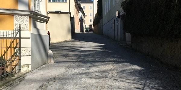 Richtung Müllner Kirche