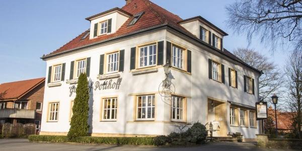 Außenaufnahme Landgasthof Potthoff, Borgholzhausen-Barnhausen