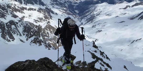 Im Stapf unschwer zum Gipfel