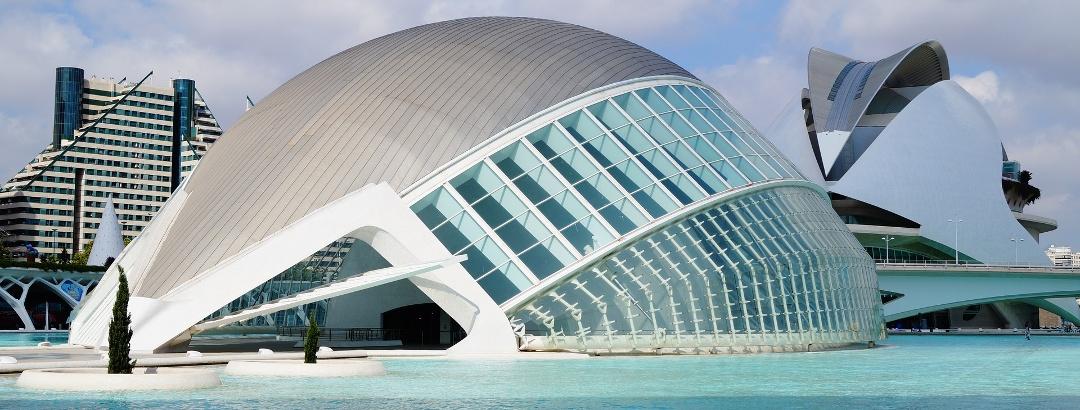 Valencia es conocida por su arquitectura