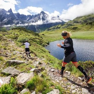 Panorama Strecke Montafon Arlberg Marathon
