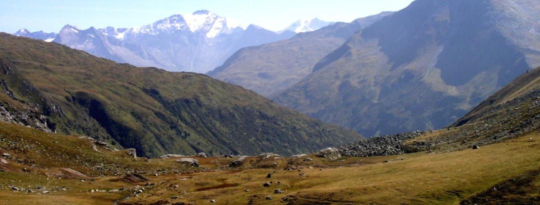 Abstieg zum Oberen Pochhartsee 2070m