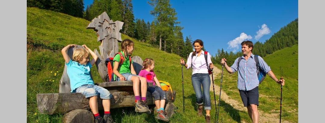 Familienwandern auf dem Salzburger Almenweg