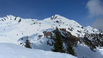 Hirschkarspitze rechts der Kleinen Scharte