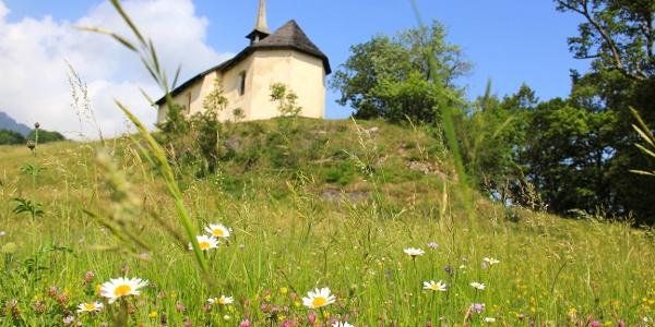 Die St. Georg Kapelle bei Pfäfers.