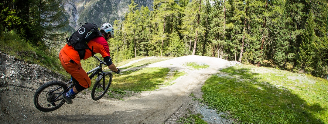 Flow and fun on the Sunnegga Trail