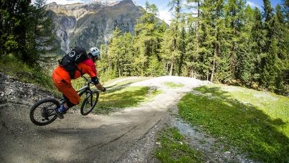 Flux et plaisir sur le Sunnegga Trail
