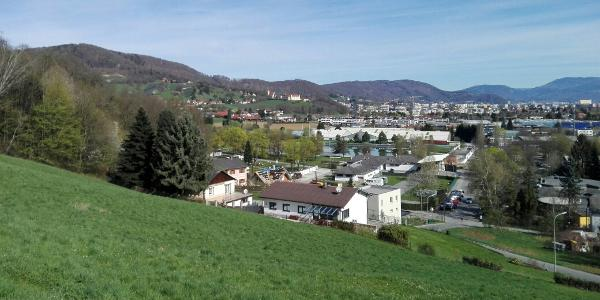 Start -- Blick auf Graz