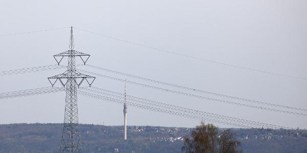Blick zum Wachwitzer Fernsehturm