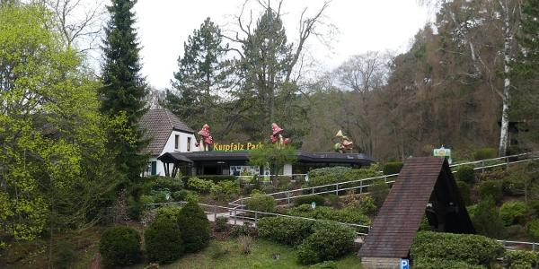 Eingang zum Kurpfalz-Park