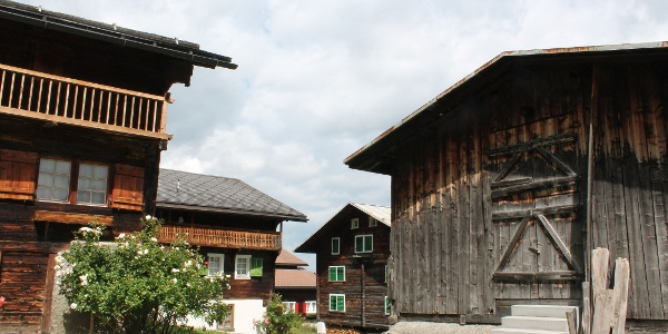 Dorfbild Segnas