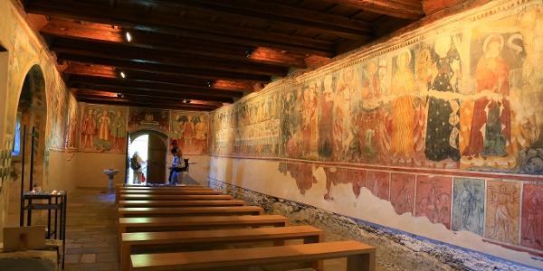 Kirche San Bernardo.