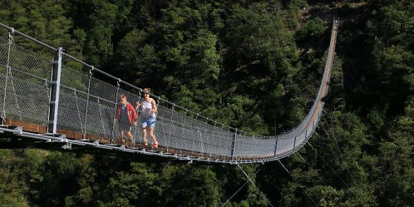 Hängebrücke Carasc.